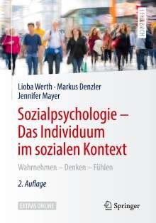 Lioba Werth: Sozialpsychologie: Das Individuum im sozialen Kontext, Buch