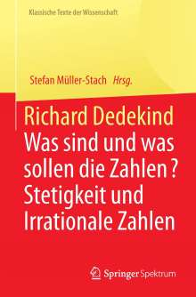 Richard Dedekind, Buch