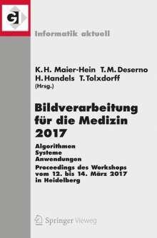 Bildverarbeitung für die Medizin 2017, Buch