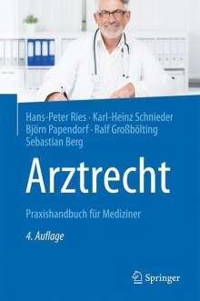 Hans-Peter Ries: Arztrecht, Buch
