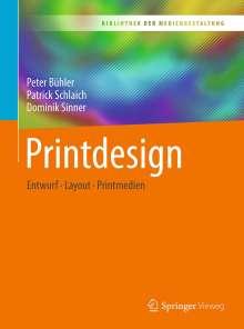 Peter Bühler: Printdesign, Buch