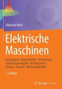Ekkehard Bolte: Elektrische Maschinen, Buch