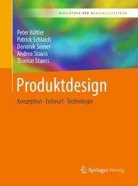 Peter Bühler: Produktdesign, Buch