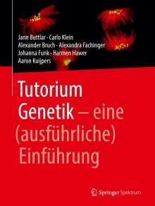 Jann Buttlar: Tutorium Genetik, Buch