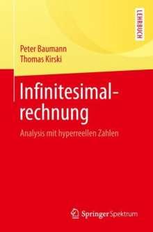 Peter Baumann: Infinitesimalrechnung, Buch