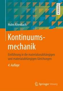 Holm Altenbach: Kontinuumsmechanik, Buch