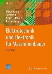 Elektrotechnik und Elektronik für Maschinenbauer, Buch
