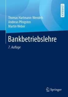 Thomas Hartmann-Wendels: Bankbetriebslehre, Buch
