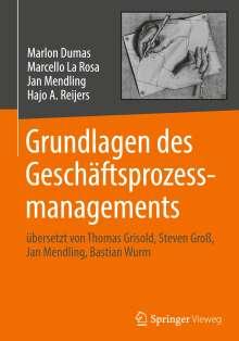 Marlon Dumas: Grundlagen des Geschäftsprozessmanagements, Buch