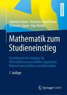 Gabriele Adams: Mathematik zum Studieneinstieg, Buch