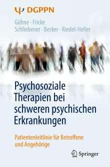 Uta Gühne: Psychosoziale Therapien bei schweren psychischen Erkrankungen, Buch