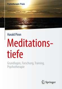 Harald Piron: Meditationstiefe, Buch