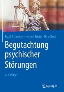 Frank Schneider: Begutachtung psychischer Störungen, Buch