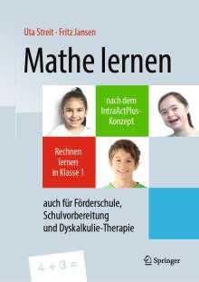 Uta Streit: Mathe lernen nach dem IntraActPlus-Konzept, Buch