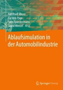 Ablaufsimulation in der Automobilindustrie, Buch
