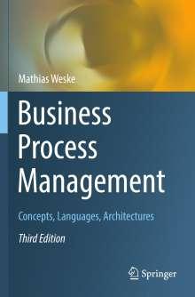 Mathias Weske: Business Process Management, Buch