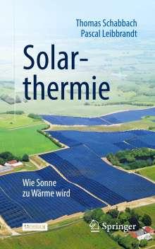 Thomas Schabbach: Solarthermie, Buch