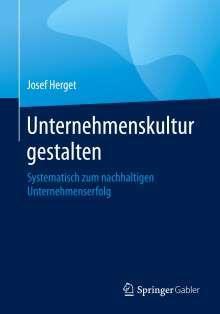 Josef Herget: Unternehmenskultur gestalten, Buch