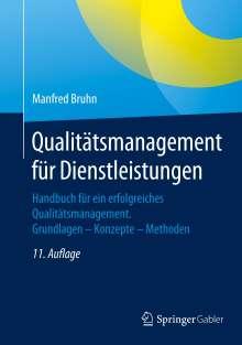 Manfred Bruhn: Qualitätsmanagement für Dienstleistungen, Buch