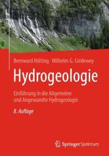 Bernward Hölting: Hydrogeologie, Buch