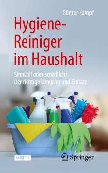 Günter Kampf: Hygiene-Reiniger im Haushalt, Buch