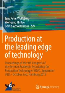 Production at the leading edge of technology, Buch