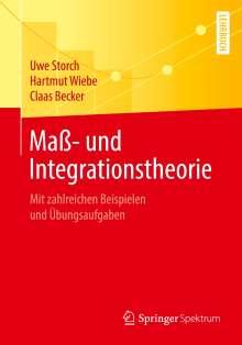 Claas Becker: Maß- und Integrationstheorie, Buch