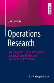 Dirk Briskorn: Operations Research, Buch