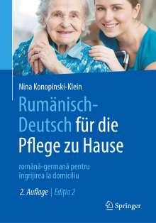 Nina Konopinski-Klein: Rumänisch-Deutsch für die Pflege zu Hause, Buch