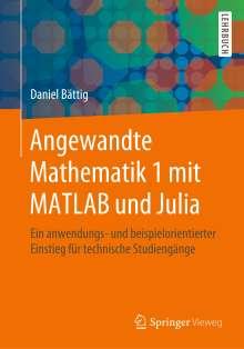 Daniel Bättig: Angewandte Mathematik 1 mit MATLAB und Julia, Buch