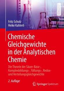 Heike Kahlert: Chemische Gleichgewichte in der Analytischen Chemie, Buch