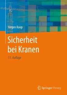 Jürgen Koop: Sicherheit bei Kranen, Buch