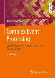 Ulrich Hedtstück: Complex Event Processing, Buch