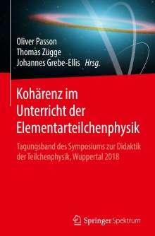 Kohärenz im Unterricht der Elementarteilchenphysik, Buch