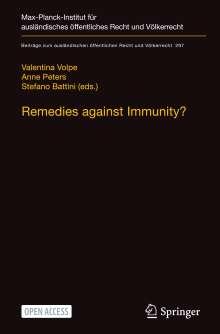 Remedies against Immunity?, Buch