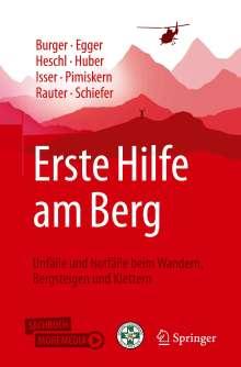 Christian Bürkle: Erste Hilfe am Berg, Buch