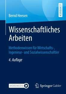 Bernd Heesen: Wissenschaftliches Arbeiten, Buch