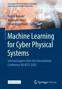 Machine Learning for Cyber Physical Systems, Buch