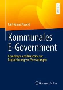 Ralf-Rainer Piesold: Kommunales E-Government, Buch