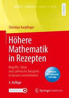 Christian Karpfinger: Höhere Mathematik in Rezepten, 1 Buch und 1 eBook