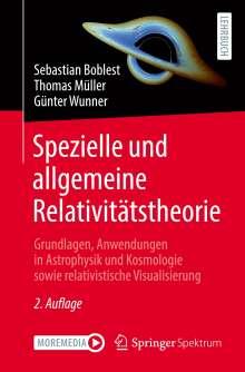 Sebastian Boblest: Spezielle und allgemeine Relativitätstheorie, Buch
