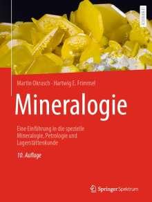 Martin Okrusch: Mineralogie, Buch