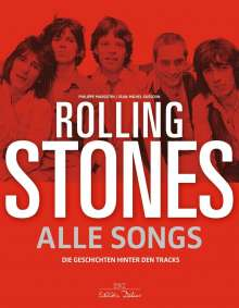 Philippe Margotin: Rolling Stones - Alle Songs, Buch