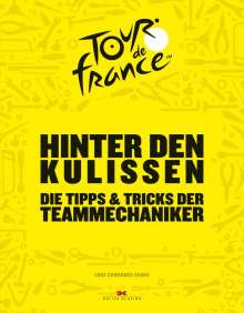 Luke Edwardes-Evans: Hinter den Kulissen der Tour de France, Buch
