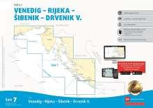 Sportbootkarten Satz 7: Adria 1 (Ausgabe 2021/2022), Diverse