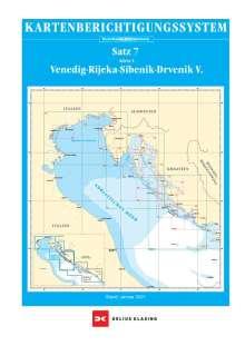 Berichtigung Sportbootkarten Satz 7: Adria 1 (Ausgabe 2021), Diverse