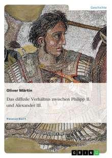 Oliver Märtin: Das diffizile Verhältnis zwischen Philipp II. und Alexander III., Buch