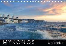 Katrin Manz: Mykonos - Stille Ecken (Tischkalender 2019 DIN A5 quer), Diverse