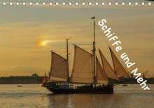 Christian Lux: Schiffe und Mehr (Tischkalender 2020 DIN A5 quer), Diverse