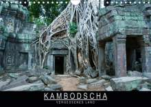 Stephan Knödler: Kambodscha - Vergessenes Land (Wandkalender 2020 DIN A4 quer), Diverse